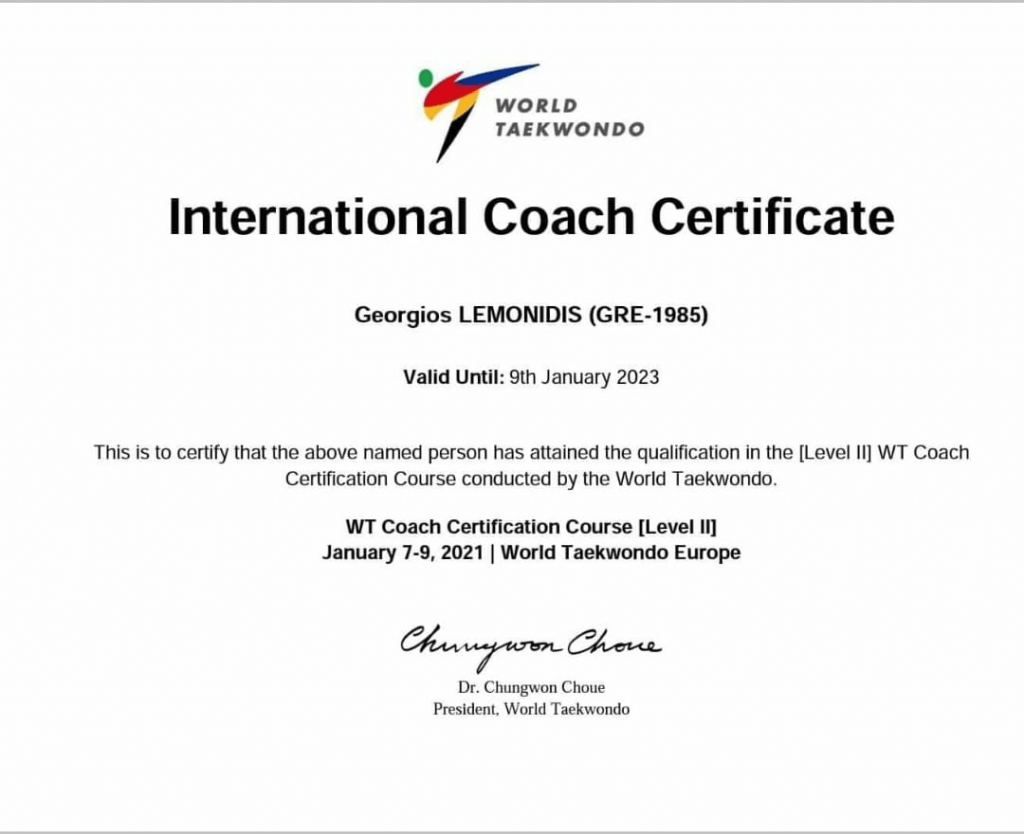 taekwondo-wt-level2-coach-certification